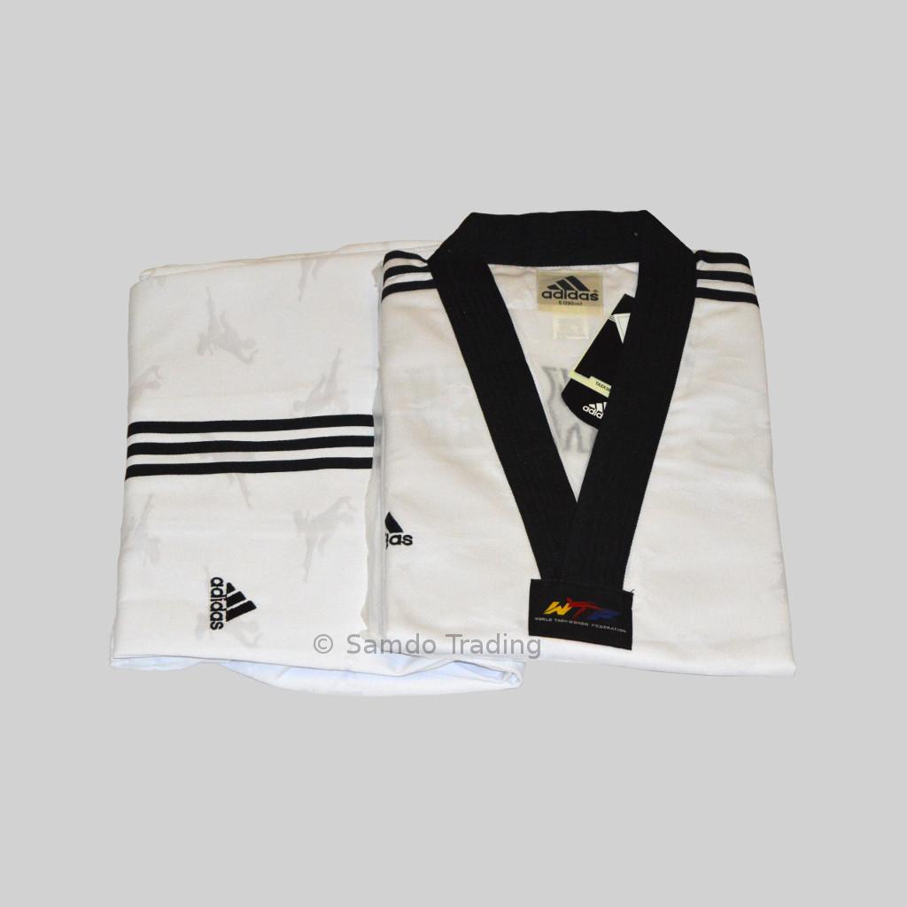 845472e61 Adidas Super Master Uniform Black V-Neck Three Stripes On Shoulder ...